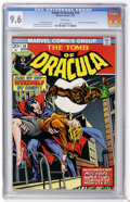 Bronze Age (1970-1979):Horror, Tomb of Dracula #18 (Marvel, 1974) CGC NM+ 9.6 White pages....