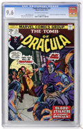 Bronze Age (1970-1979):Horror, Tomb of Dracula #25 (Marvel, 1974) CGC NM+ 9.6 Off-white to whitepages....