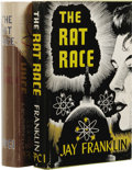 Books:First Editions, Jay Franklin: The Rat Race. (Los Angeles: Fantasy PublishingCompany, Inc., 1950), first edition, 371 pages, dust jacket...