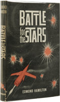 Books:First Editions, Edmond Hamilton: Battle for the Stars. (New York: TorquilDistributed by Dodd, Mead & Co., 1961), first edition ($2.95d...