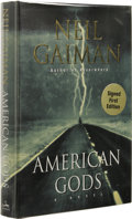Books:Signed Editions, Neil Gaiman: American Gods Signed Limited First Edition. (New York: William Morrow, 2001), first edition, 465 pages,...