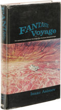 Books:First Editions, Isaac Asimov: Fantastic Voyage. (Boston: Houghton MifflinCompany, 1966), first edition, 239 pages, light red cloth with...