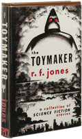 Books:First Editions, Raymond F. Jones: The Toymaker. (Los Angeles: FantasyPublishing Co., Inc., 1951), first edition, 287 pages, browncloth...