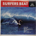 """Music Memorabilia:Recordings, Dick Dale and Mike Adams Surf LP Group of 4 (1963-64). Mike Adamsand Red Jackets """"Surfers Beat"""" (Crown 312, 1963) in NM 8/ ...(Total: 4 )"""