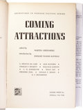 Books:First Editions, Martin Greenberg, editor: Coming Attractions. (New York:Gnome Press, 1957), first edition, 254 pages, jacket design by ...