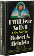 Books:First Editions, Robert A. Heinlein: I Will Fear No Evil. (New York: G. P.Putnam's Sons, 1970), first edition, 401 pages, jacket design ...