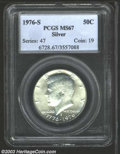 Kennedy Half Dollars: , 1976-S Silver MS67 PCGS. ...