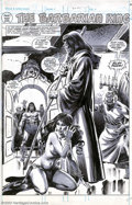 Original Comic Art:Splash Pages, John Buscema and Tony DeZuniga - Original Splash Page Art forSavage Sword of Conan #52, page 32 (Marvel, 1980). The great d...