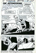 "Original Comic Art:Complete Story, Don Heck - Original Art for Tales to Astonish #43, Complete 13-pageStory ""The Mad Master of Time!"" (Marvel, 1963). Ant-Man ..."
