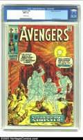 Bronze Age (1970-1979):Superhero, The Avengers #85 (Marvel, 1971) CGC NM 9.4 Off-white pages. First appearances of Tom Thumb, Whizzer II (Stanley Stewart), Do...