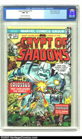 Bronze Age (1970-1979):Horror, Crypt of Shadows #19 Stan Lee File Copy (Marvel, 1975) CGC NM- 9.2Cream to off-white pages. Horror and science fiction repr...