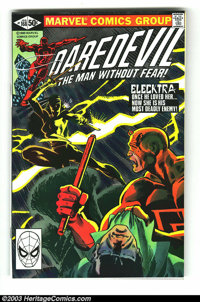 Daredevil #168 (Marvel, 1981) Condition: NM. Origin and first appearance of Elektra by Frank Miller. Did you ever notice...