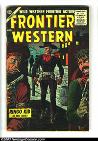 Frontier Western Group of #4-6 (Atlas, 1956) Condition: Average VG-. Overstreet 2003 value for group = $50.... (Total: 3...