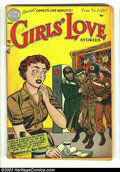 Golden Age (1938-1955):Romance, Girls' Love Stories #18 (DC, 1952) Condition: GD+. Cover detached.Overstreet 2003 GD 2.0 value = $17....