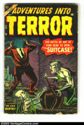 Golden Age (1938-1955):Horror, Horror Group Lot (Various Publishers, 1950s). This lot consists of3 great horror comics from the 1950s. Included are: Adven...(Total: 3 Comic Books Item)