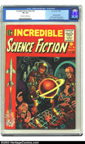 Golden Age (1938-1955):Horror, Incredible Science Fiction #30 (EC, 1955) CGC VF+ 8.5 Off-white towhite pages. First issue; formerly Weird Science-Fantasy....