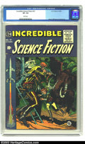 Golden Age (1938-1955):Science Fiction, Incredible Science Fiction #31 (EC, 1955) CGC VF+ 8.5 White pages.Wood, Williamson, Krenkel and Davis art. Overstreet 2003 ...