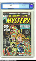 Bronze Age (1970-1979):Horror, Journey into Mystery (2nd Series) #17 (Marvel, 1975) CGC VF 8.0Cream to off-white pages. Horror reprints. Overstreet 2003 V...