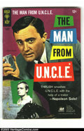 Silver Age (1956-1969):Adventure, Man from U.N.C.L.E. Group (Gold Key, 1966) Condition: VG/FN. #4, 7 and 9. Photo covers. Overstreet 2003 value for group = $4... (Total: 3 Comic Books Item)