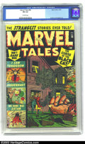 Golden Age (1938-1955):Horror, Marvel Tales #98 (Marvel, 1950) CGC FN 6.0 Off-white pages. Satancover appearance. Bill Everett and Bernie Krigstein art. O...