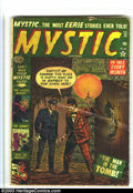 Golden Age (1938-1955):Horror, Mystic Group (Atlas, 1954) Condition: Average GD. #12, 30, 42 and44. Overstreet 2003 value for group = $90.... (Total: 4 Comic BooksItem)