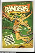 Rangers Comics #39 (Fiction House, 1948) Condition: FN-. Joe Doolin cover. Matt Baker, Bob Lubbers, Charles Sultan, and...