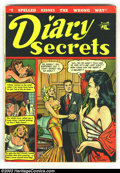 Golden Age (1938-1955):Romance, Romance Comic Group #Lot (St. John, 1950) Condition: averages GD-.Contains Diary Secrets #10, Pictorial Love Stories #1, Wa...(Total: 4 Comic Books Item)