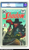 Bronze Age (1970-1979):Miscellaneous, The Shadow #1 (DC, 1973). CGC NM+ 9.6 White pages. Kaluta's lovelytake on this time-honored hero begins, with a newstand-fr...