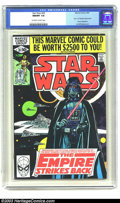 """Modern Age (1980-Present):Science Fiction, Star Wars #39 (Marvel, 1980) CGC NM/MT 9.8 Off-white to whitepages. Al Williamson art; first part of """"Empire Strikes Back"""" ..."""