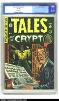 Golden Age (1938-1955):Horror, Tales From the Crypt #21 (EC, 1951) CGC VG 4.0 Off-white pagesFeldstein, Ingels and Wood art. Second issue. Overstreet 2003...