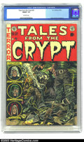 Golden Age (1938-1955):Horror, Tales From the Crypt #30 (EC, 1952) CGC FN/VF 7.0 Off-white pages.Davis, Kamen and Ingels art. Overstreet 2003 FN 6.0 value...