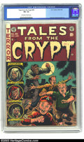 Golden Age (1938-1955):Horror, Tales From the Crypt #39 (EC, 1953) CGC FN- 5.5 Off-white to whitepages. Orlando, Kamen and Ingels art. Overstreet 2003 FN ...