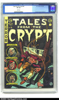 Golden Age (1938-1955):Horror, Tales From the Crypt #44 (EC, 1954) CGC VF 8.0 White pages.Crandall, Kamen and Evans art. Overstreet 2003 VF 8.0 value = $2...