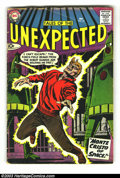 Silver Age (1956-1969):Horror, Tales of the Unexpected Group #'s 34, 36 & 49 (DC, 1958)Average Condition = GD. Here are three great DC Science-Fictioncom... (Total: 3 Comic Books Item)