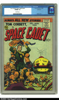 Golden Age (1938-1955):Science Fiction, Tom Corbett, Space Cadet #2 Bethlehem pedigree (Prize, 1955) CGCVF/NM 9.0 Off-white pages. Meskin cover. Only copy certifie...