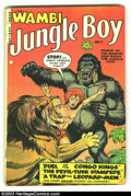 Golden Age (1938-1955):Adventure, Wambi the Jungle Boy #7 (Fiction House, 1950) Condition: VG-. Overstreet 2003 VG 4.0 value $38. ...