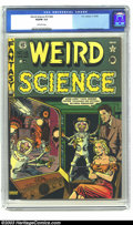 Golden Age (1938-1955):Horror, Weird Science 15 (#4) (EC, 1950) CGC VG/FN 5.0 Off-white pages.Feldstein cover, Kurtzman, Ingels and Kamen art. Overstreet ...