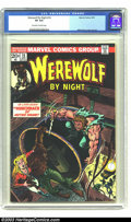 Bronze Age (1970-1979):Horror, Werewolf by Night #16 (Marvel, 1974) CGC VF 8.0 Off-white to whitepages. Mike Ploog cover and art. Overstreet 2003 VF 8.0 v...