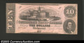 Confederate Notes:1862 Issues, 1862 $10 Model of State Capitol at Columbia, SC; R.M.T. Hunter,...