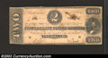 Confederate Notes:1863 Issues, 1863 $2 Judah P. Benjamin, T-61, Fine. ...