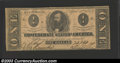 Confederate Notes:1863 Issues, 1863 $1 Clement C. Clay, T-62, Fine. A couple of small edge ...
