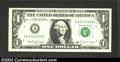 Error Notes:Error Group Lots, 1988-A Web $1 Federal Reserve Note, Fr-1917-A, Gem Crisp ...