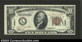 Small Size:World War II Emergency Notes, 1934-A $10 Hawaii Federal Reserve Note, Fr-2303, About ...