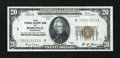 Small Size:Federal Reserve Bank Notes, Fr. 1870-I $20 1929 Federal Reserve Bank Note. Extremely Fine.. ...