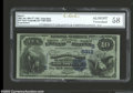 National Bank Notes:Kentucky, Louisville, KY - $10 1882 Value Back Fr. 577 National ...