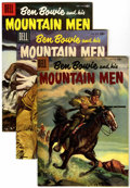 Silver Age (1956-1969):Adventure, Ben Bowie and His Mountain Men #7-9 File Copy Group (Dell, 1956-57) Condition: Average NM-.... (Total: 3 Comic Books)