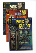 Silver Age (1956-1969):Horror, Boris Karloff Tales of Mystery Group (Gold Key, 1966-72) Condition:Average VF.... (Total: 6 Comic Books)