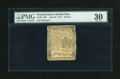Colonial Notes:Pennsylvania, Pennsylvania April 25, 1776 6d PMG Very Fine 30....