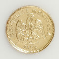 Mexico: , Mexico: Republic gold Peso 1898-Cn M, KM-410.2, only 3,521 minted,AU....
