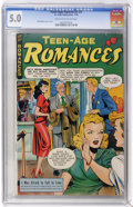 Golden Age (1938-1955):Romance, Teen-Age Romances #3 (St. John, 1949) CGC VG/FN 5.0 Cream tooff-white pages....